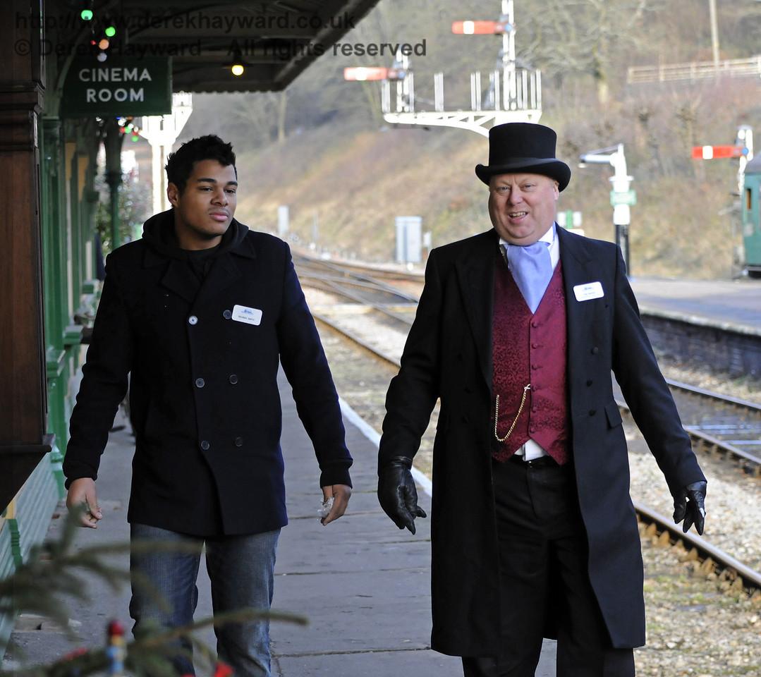 Bluebell Railway Santa Celebrations at Horsted Keynes. 08.12.2012  8404