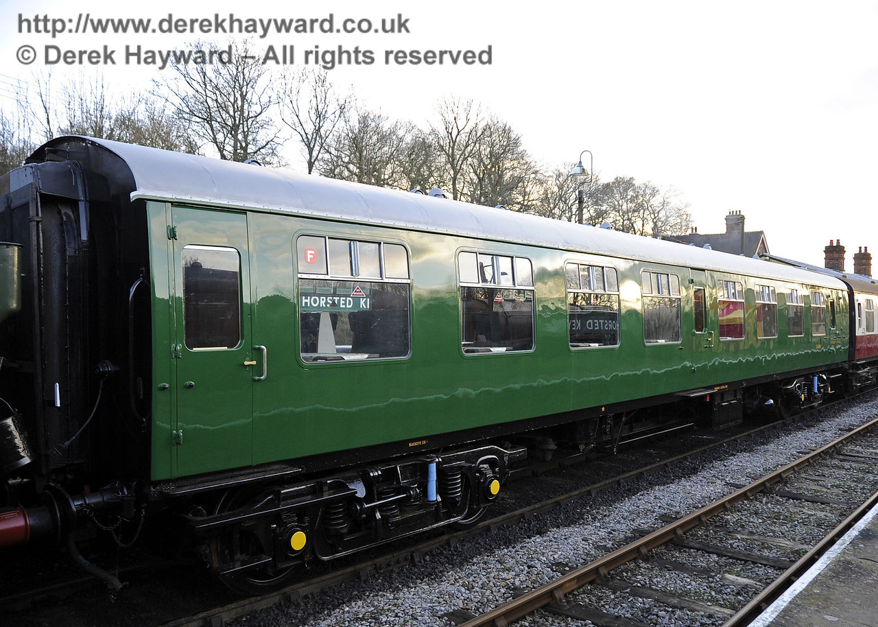 Bluebell Railway Santa Celebrations at Horsted Keynes. S4941 newly in service.  08.12.2012  5960