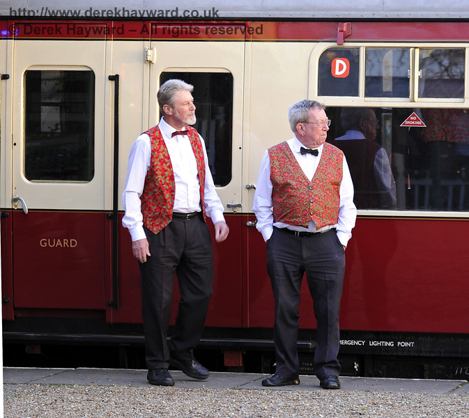 Christmas at the Bluebell Railway.  Horsted Keynes  20.12.2014  10305