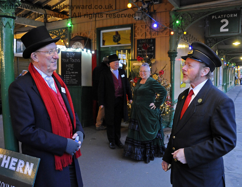 Christmas at the Bluebell Railway.  Horsted Keynes  20.12.2014  11883