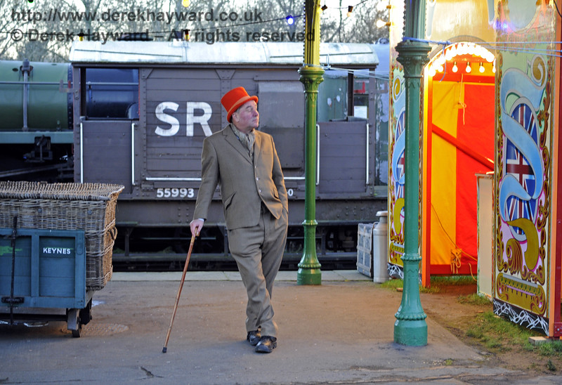 Christmas at the Bluebell Railway.  Horsted Keynes 13.12.2014  10217