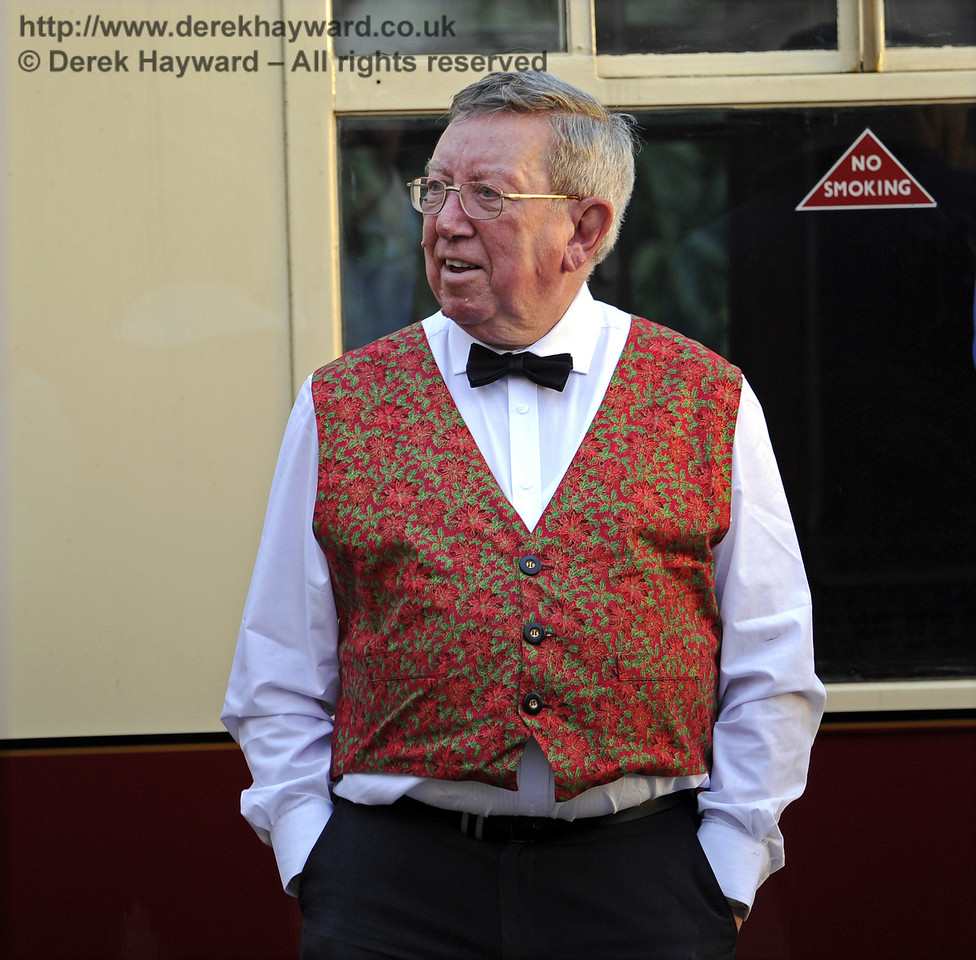 Christmas at the Bluebell Railway.  Horsted Keynes  20.12.2014  10309