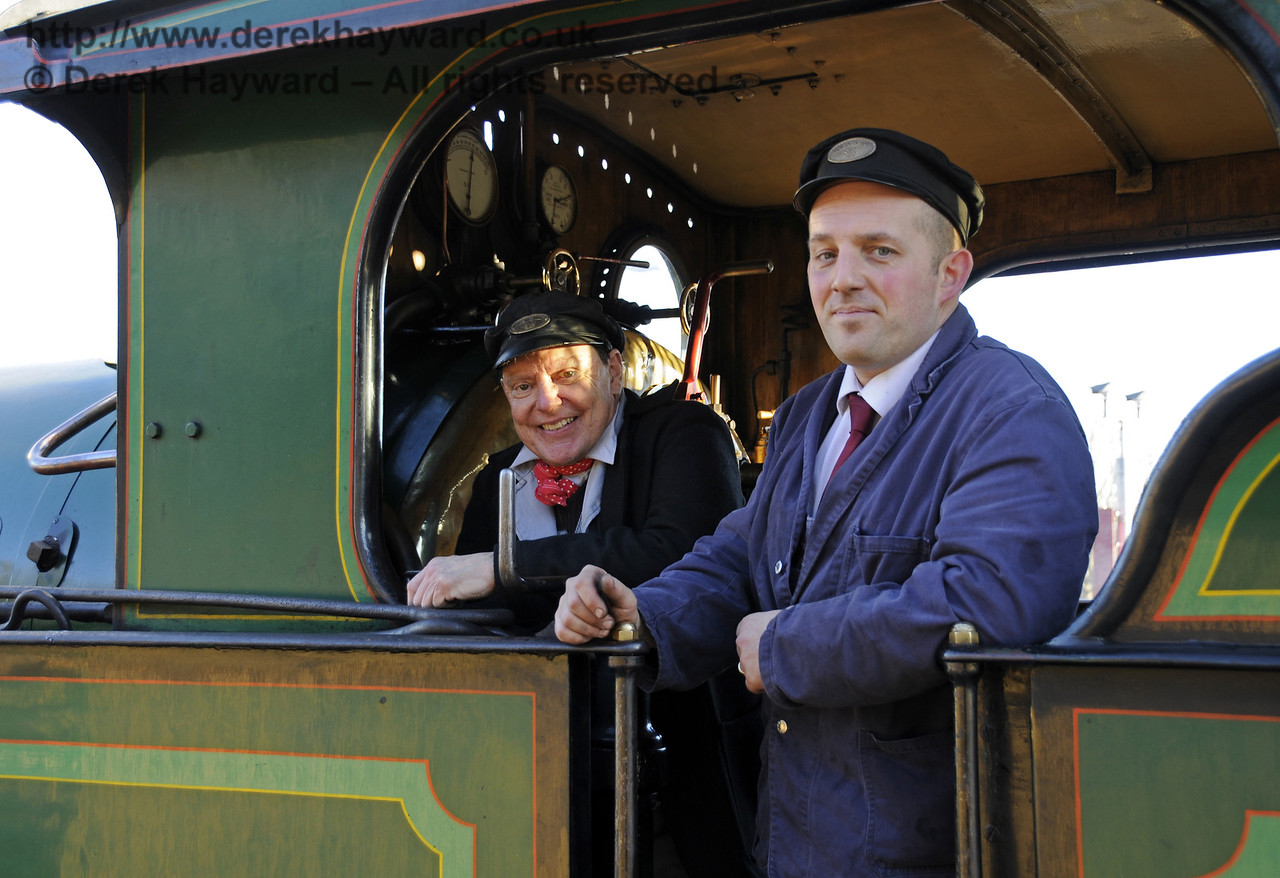 Christmas at the Bluebell Railway.   East Grinstead 13.12.2014  11775