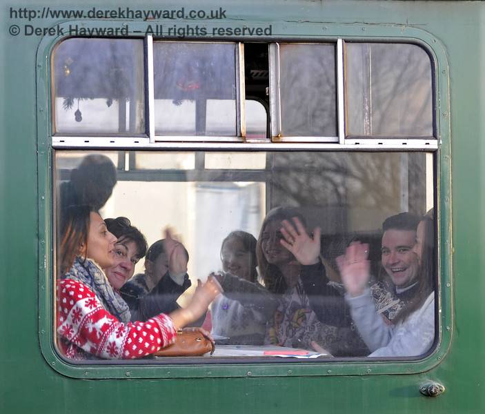Christmas at the Bluebell Railway.  Horsted Keynes  20.12.2014  10271