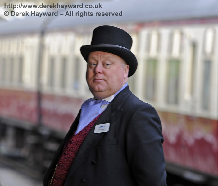 Christmas at the Bluebell Railway.  Horsted Keynes  20.12.2014  10261