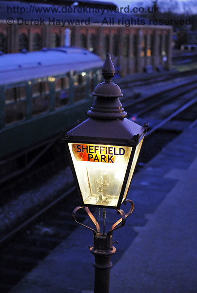 Christmas at the Bluebell Railway.  Sheffield Park  20.12.2014  10340