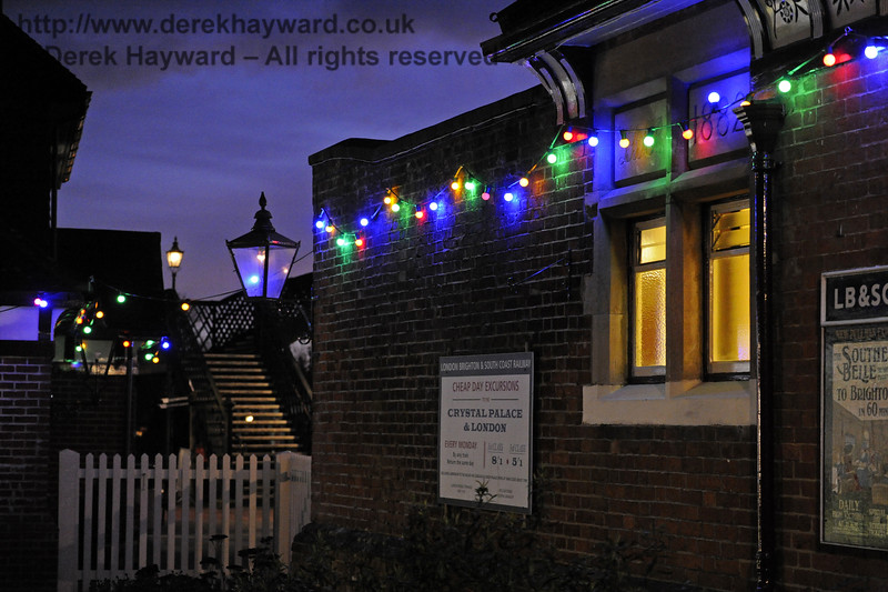 Christmas at the Bluebell Railway.  Sheffield Park  20.12.2014  10358