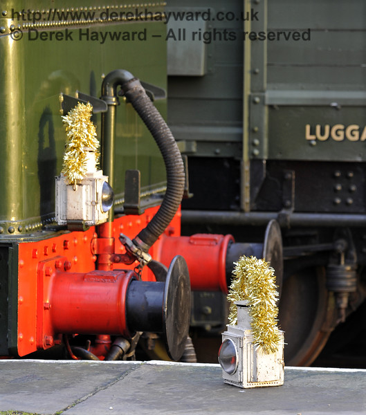 Christmas at the Bluebell Railway.  Horsted Keynes  20.12.2014  10299