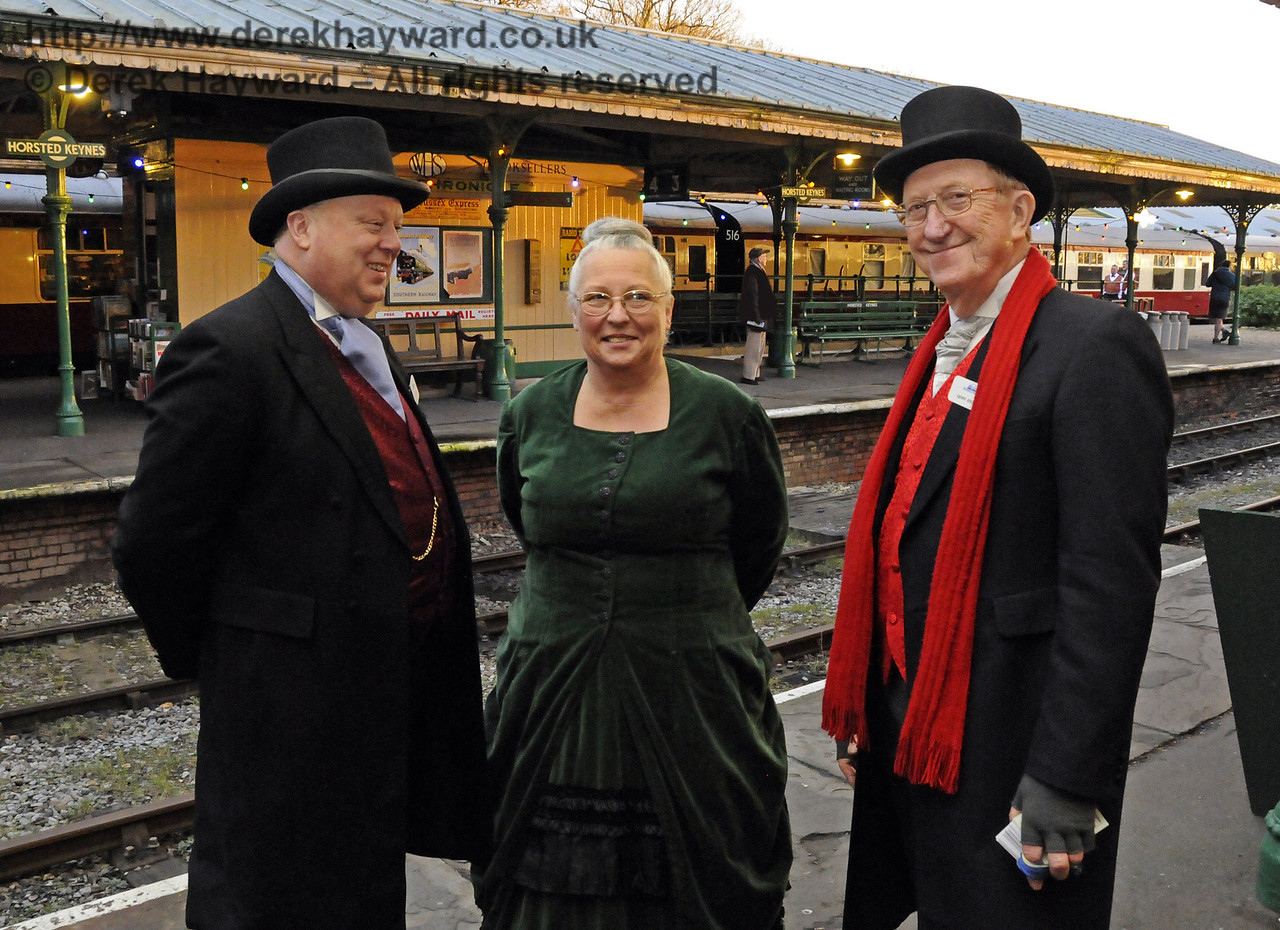 Christmas at the Bluebell Railway.  Horsted Keynes  20.12.2014  11875