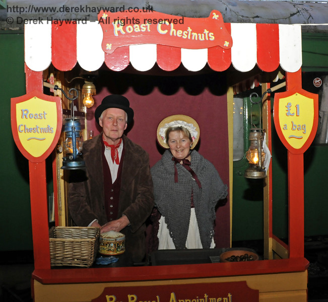 Christmas at the Bluebell Railway.  Horsted Keynes 13.12.2014  11814