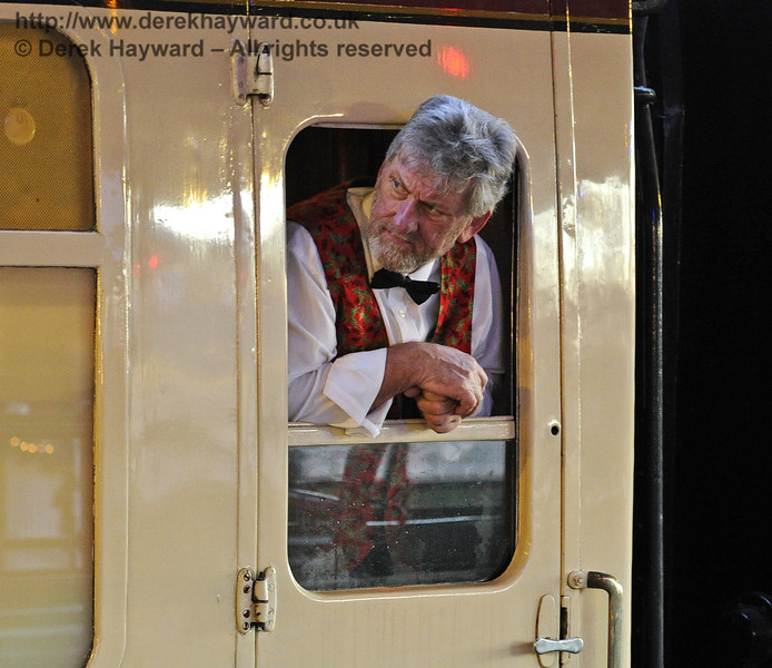 Christmas at the Bluebell Railway.  Horsted Keynes  13.12.2014  10219