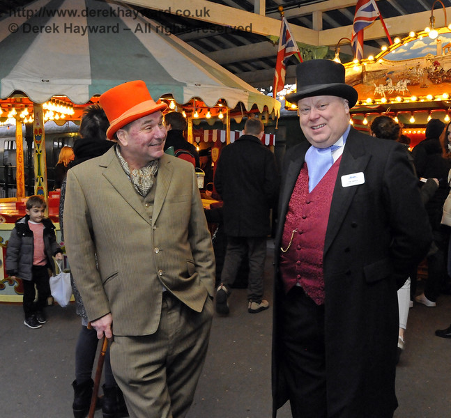 Christmas at the Bluebell Railway.  Horsted Keynes  20.12.2014  11880