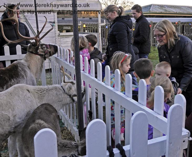 Christmas at the Bluebell Railway.  Kingscote  13.12.2014   11802