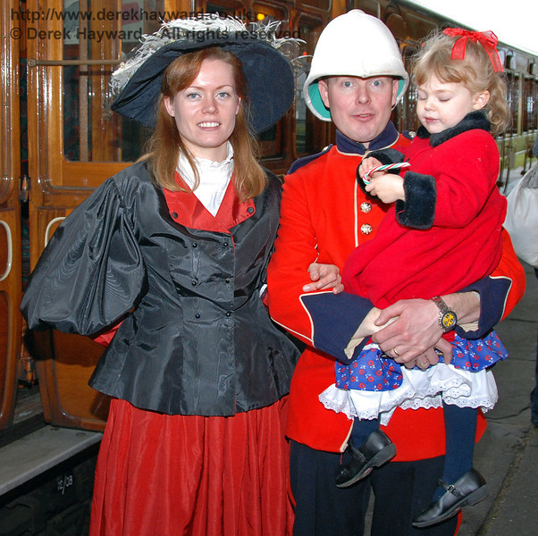 A Victorian family at Horsted Keynes. 20.12.2008