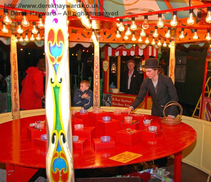 Stalls at Horsted Keynes 20.12.2008