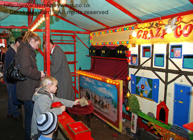 The Crazy Cottage game at Horsted Keynes. 20.12.2008