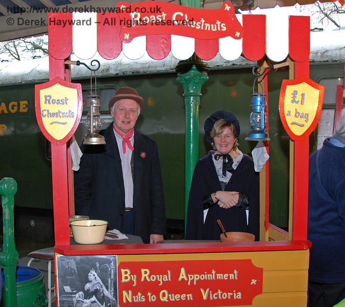 By Royal Appointment, Nuts to Queen Victoria. Horsted Keynes 20.12.2008
