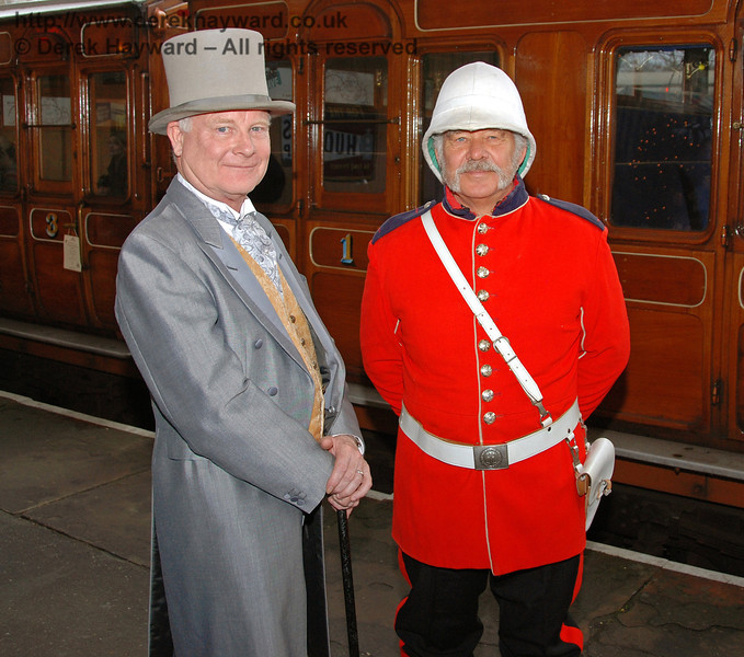Smart gentlemen at Horsted Keynes. 20.12.2008