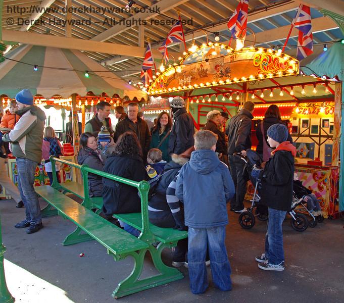 Stalls at Horsted Keynes. 02.01.2010