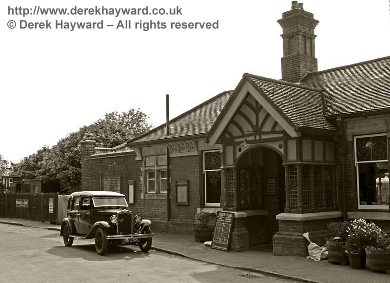 Horsted Keynes Station.  08.06.2014  10663