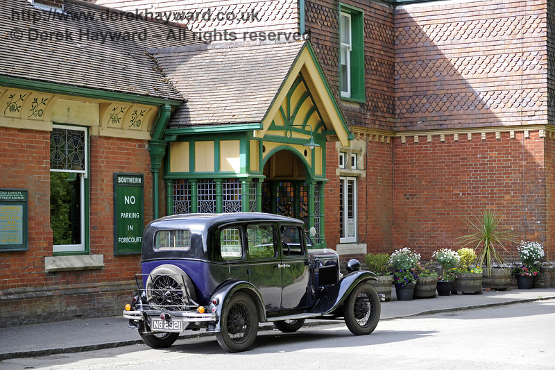 Horsted Keynes Station.  08.06.2014  9601