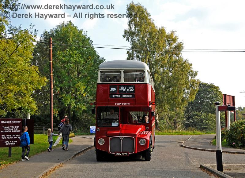 Bus Running Day. Sheffield Park 04.10.2015   13804