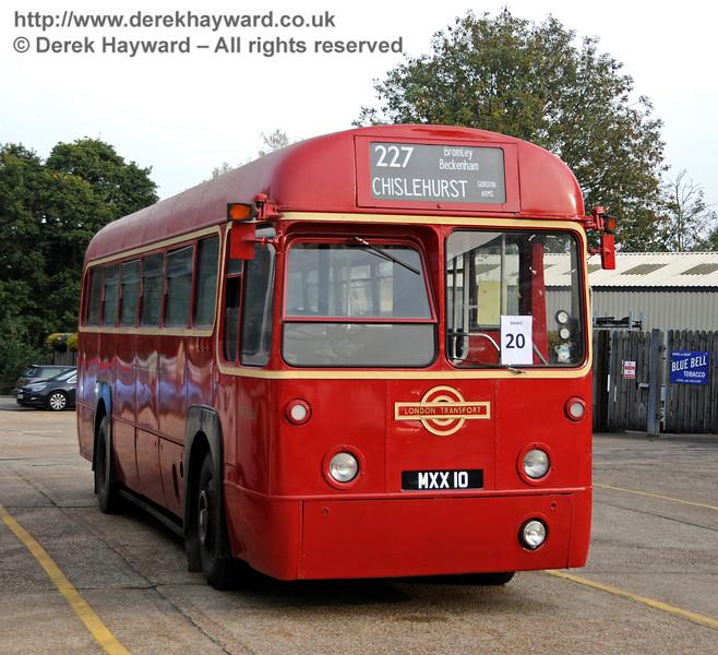 Bus Running Day. Sheffield Park 04.10.2015   13827