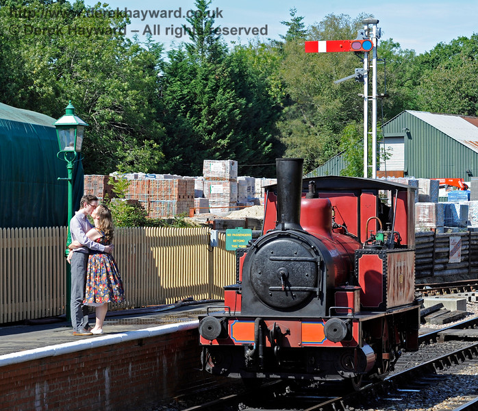 The railway congratulates Adele Duggan and Ciaran Gallagher who celebrated their engagement at Kingscote today, in the presence of Captain Baxter.  22.08.2015   11928