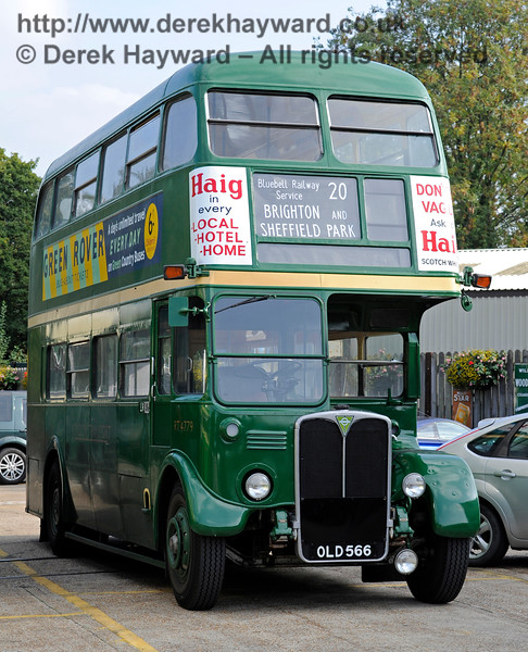 Bus Running Day. Sheffield Park 04.10.2015   12033
