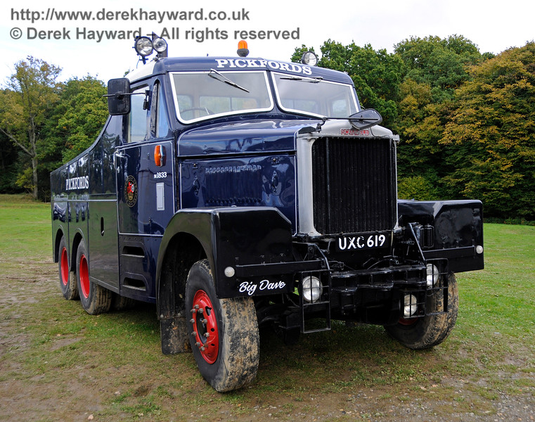 A display of heavy haul vehicles at Horsted Keynes.    16.10.2016  16467