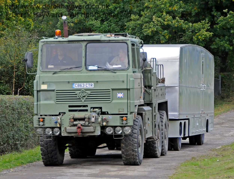 A display of heavy haul vehicles at Horsted Keynes.   16.10.2016  16463
