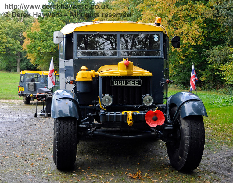 A display of heavy haul vehicles at Horsted Keynes.   16.10.2016  16471