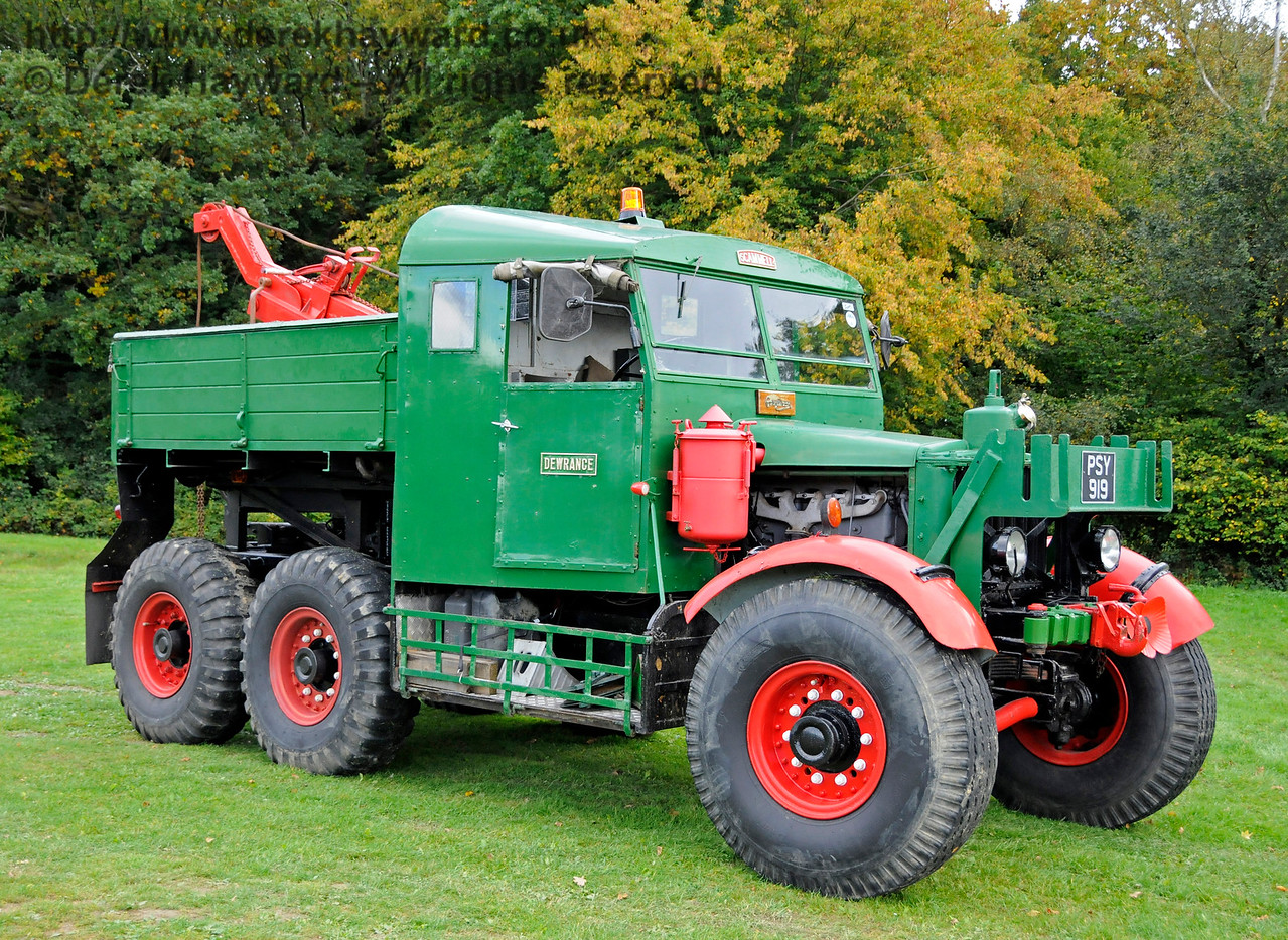 A display of heavy haul vehicles at Horsted Keynes.    16.10.2016  16469