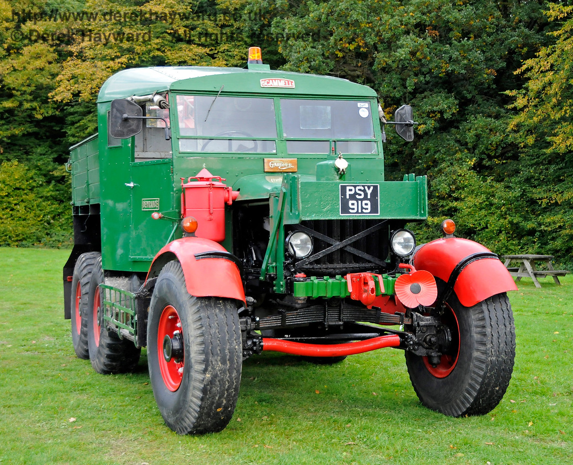 A display of heavy haul vehicles at Horsted Keynes.   16.10.2016  16468
