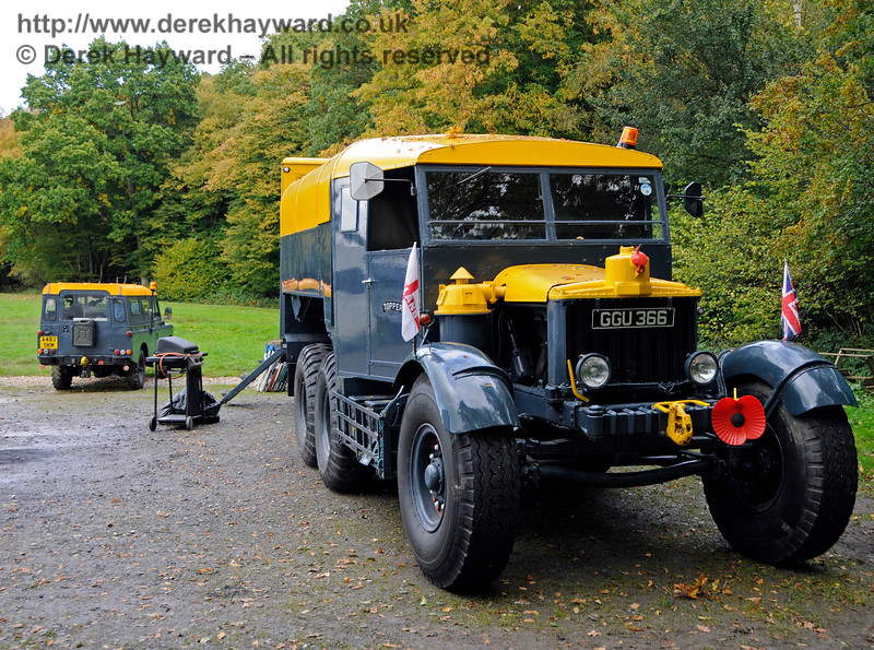 A display of heavy haul vehicles at Horsted Keynes.    16.10.2016  16470