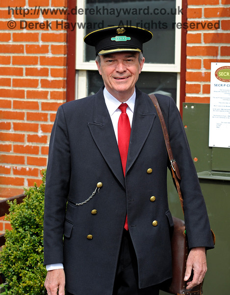 Congratulations to Graham Aitken, the newly elected Chairman of the Bluebell Railway Preservation Society.  This image, taken to mark the event is approved by Graham, and may be shared, offered or circulated.  It is also available in high resolution.<br /> 13008