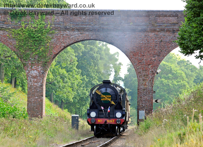 847 at Three Arch Bridge. 27.08.2017 16027