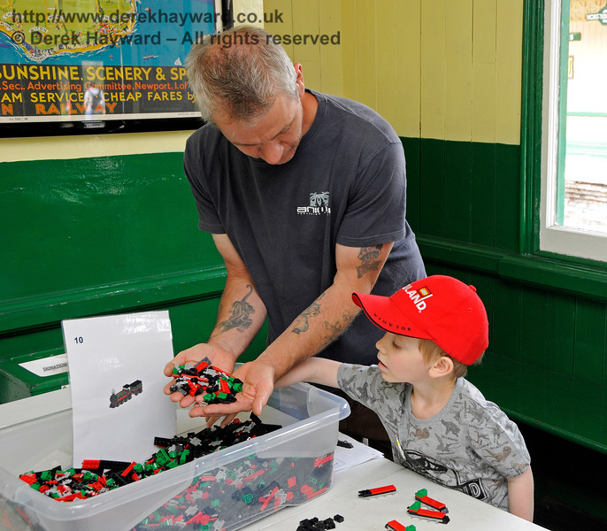An image from the Bright Bricks weekend.  Horsted Keynes 27.05.2017 17280