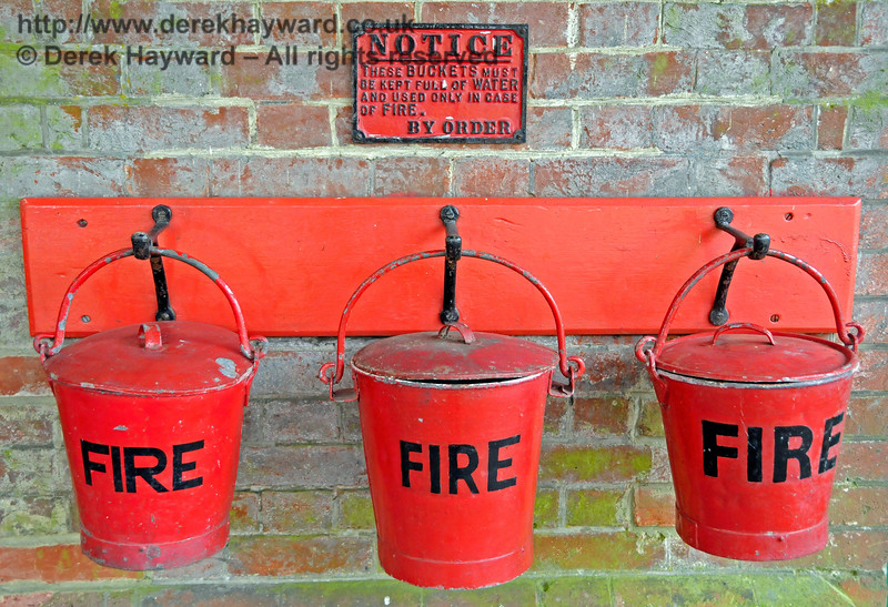 Fire precautions at Kingscote. 11.06.2017 17356