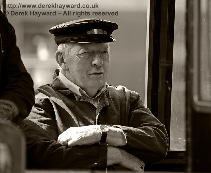 A member of the crew of 73082 at Horsted Keynes. 19.08.2017 15966