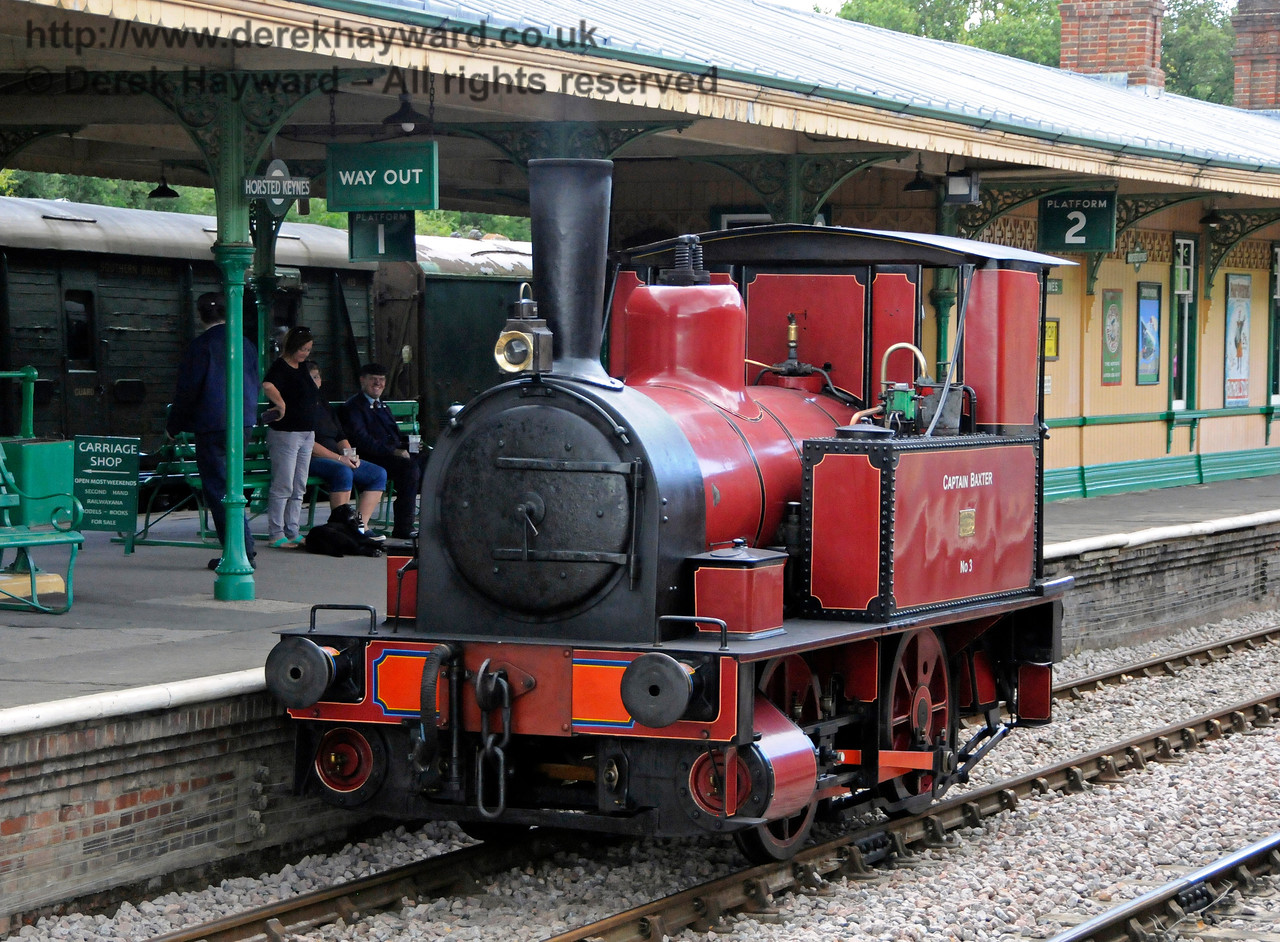 Captain Baxter at Horsted Keynes 19.08.2017 17672
