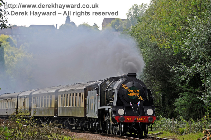 847 steams north from West Hoathly. 27.08.2017 16001