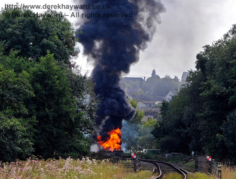 Fire West Hoathly 14.11 Taken from New Coombe Bridge 27.08.2017 17763/2