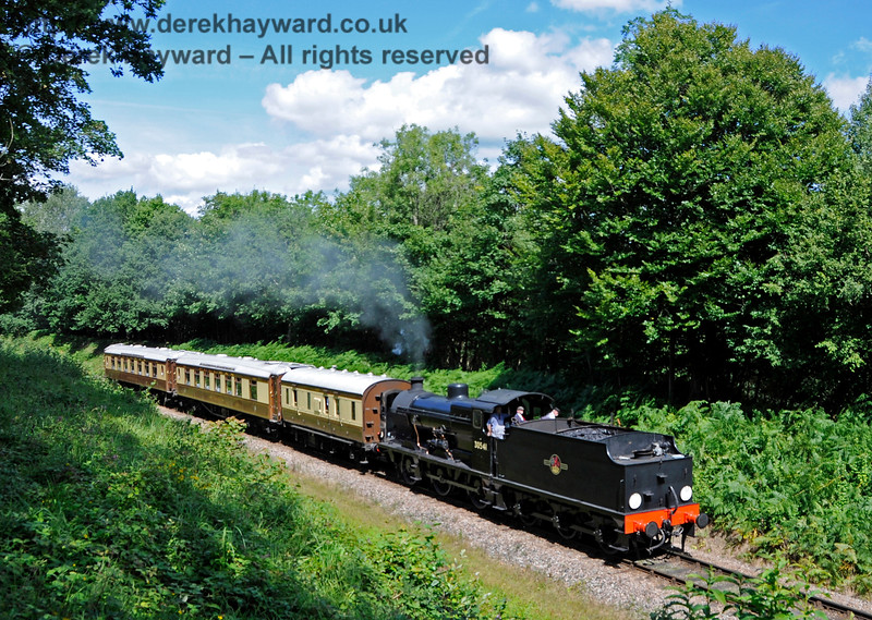 30541 hauls the Golden Arrow south towards Dean's Crossing. 06.08.2017 17589