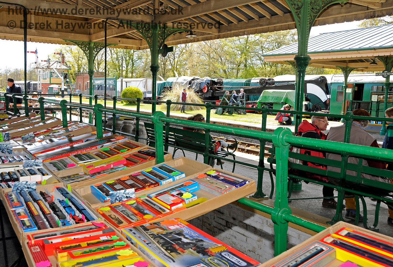 Bluebell Railway Toy and Rail Collectors Fair, Horsted Keynes Station, 30.04.2016  14982
