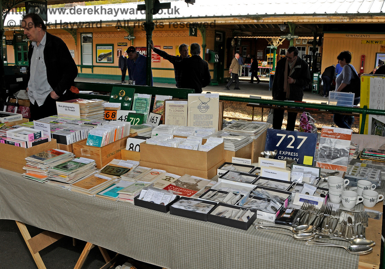 Bluebell Railway Toy and Rail Collectors Fair, Horsted Keynes Station, 30.04.2016  14985