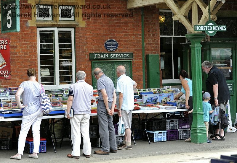 Toy and Rail Collectors Fair, Horsted Keynes, 26.07.2014  9904