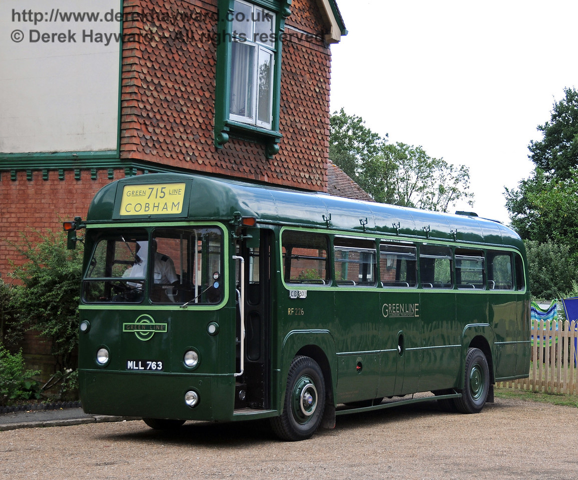 RF 226 (MLL763) which operated the vintage bus tours around Kingscote, Imberhorne and East Grinstead. 07.08.2010   3806