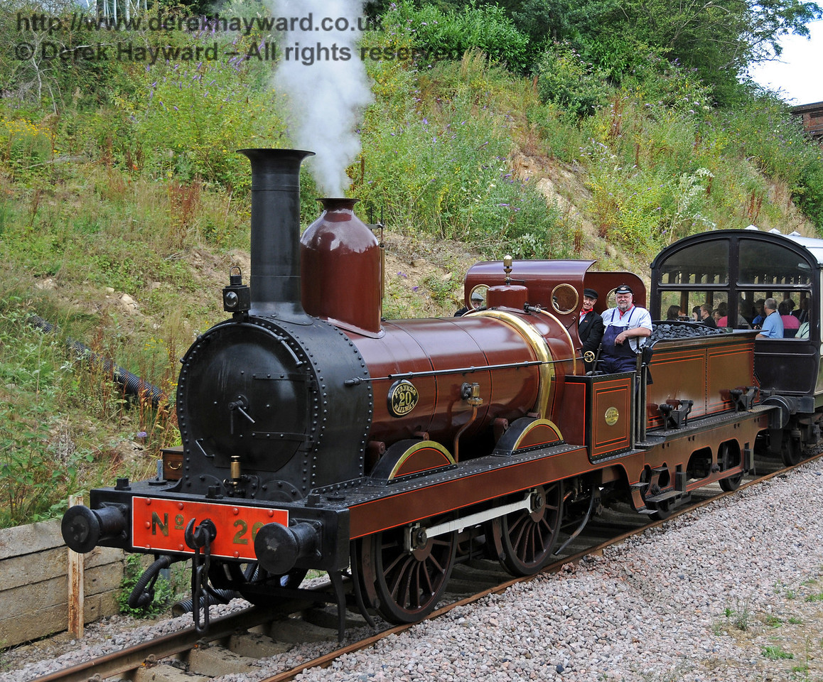 Furness Railway No.20 at Imberhorne Lane. 07.08.2010  3776