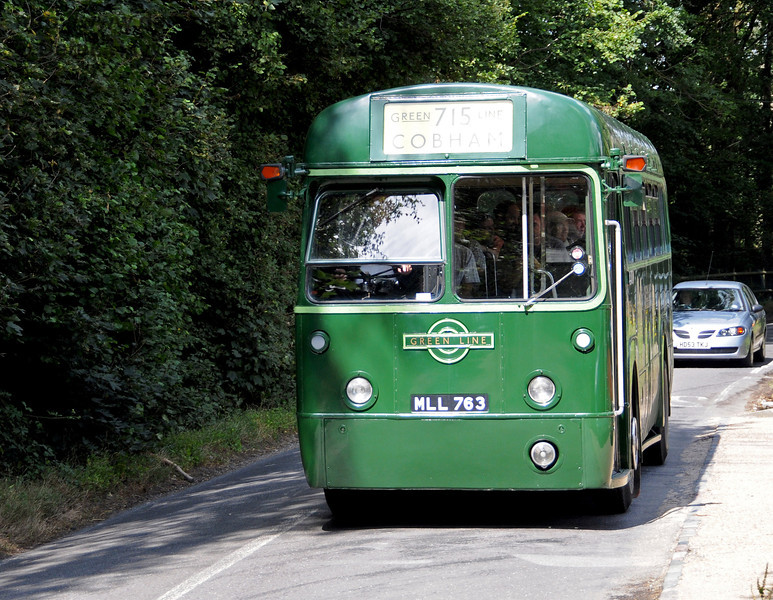 RF 226 (MLL763) operating the vintage bus tours around Kingscote, Imberhorne and East Grinstead. 08.08.2010  3807